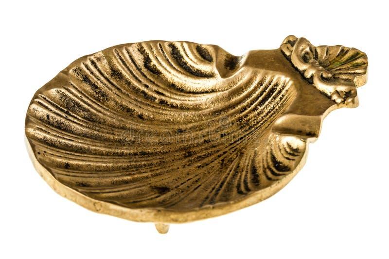 Shell formte Aschenbecher stockfotografie