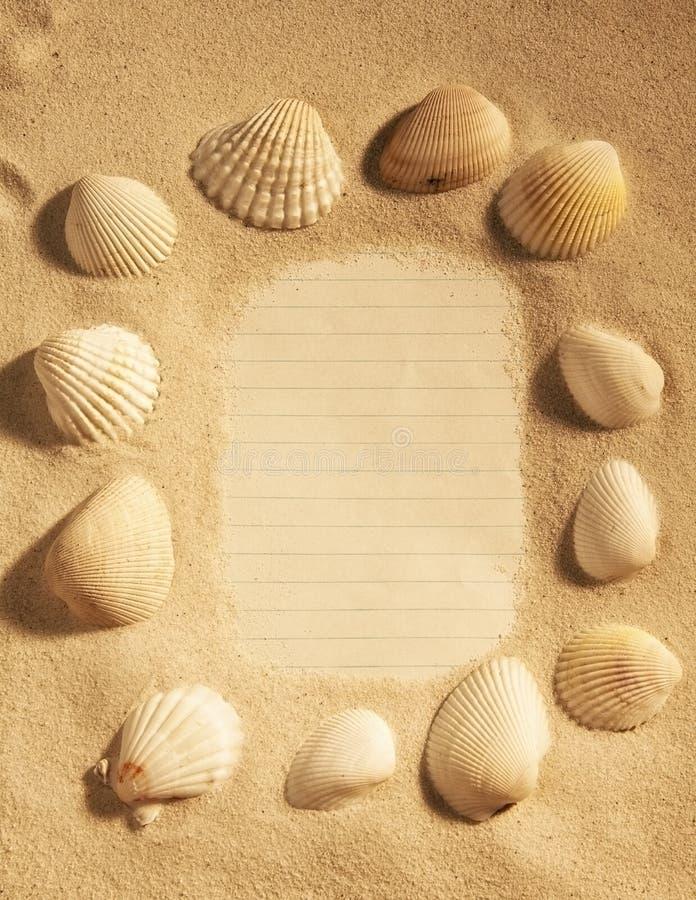 Shell graniczy obrazy stock