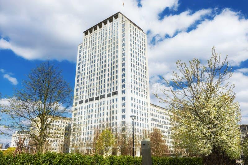 Shell Headquarters in London, Großbritannien im Frühjahr stockfoto
