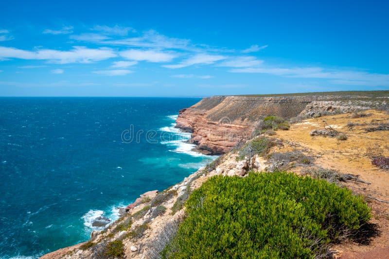 Shell House e Grandstand Rock Gorge no oeste da Austrália próximo ao Parque Nacional de Kalbarri fotos de stock royalty free