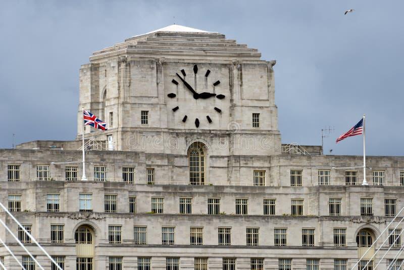 Shell Mex House Londen, het UK royalty-vrije stock fotografie