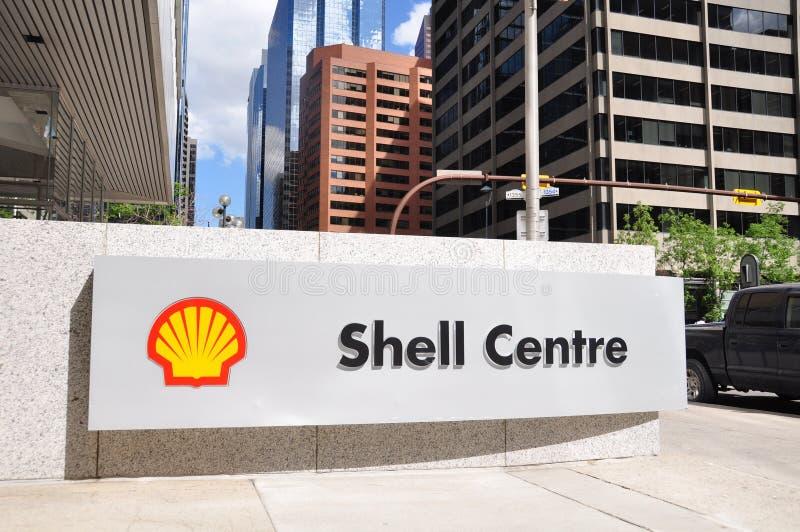 Shell-Mitte stockfoto