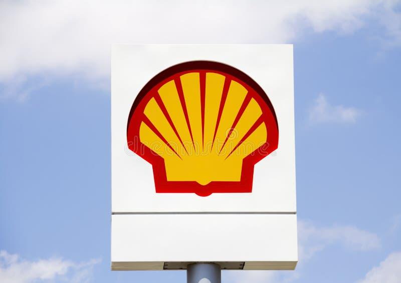 Shell Oil lizenzfreie stockfotografie