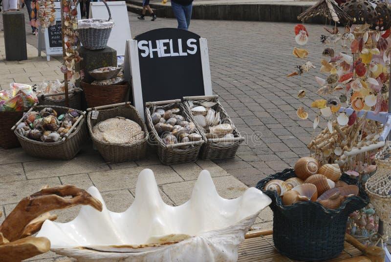 Shell shop on Brighton seafront. UK royalty free stock photos