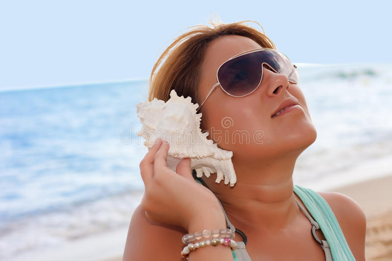 Download Shell sound stock photo. Image of sound, lovely, holiday - 11135090