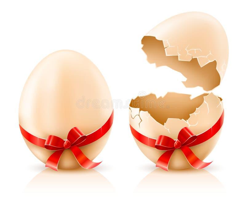 Shelles de los huevos de Pascua libre illustration