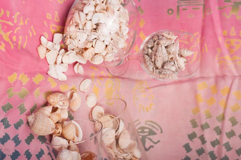Download Shelles del mar imagen de archivo. Imagen de arena, playa - 100534651