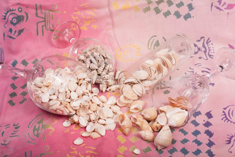 Download Shelles del mar imagen de archivo. Imagen de florero - 100534829