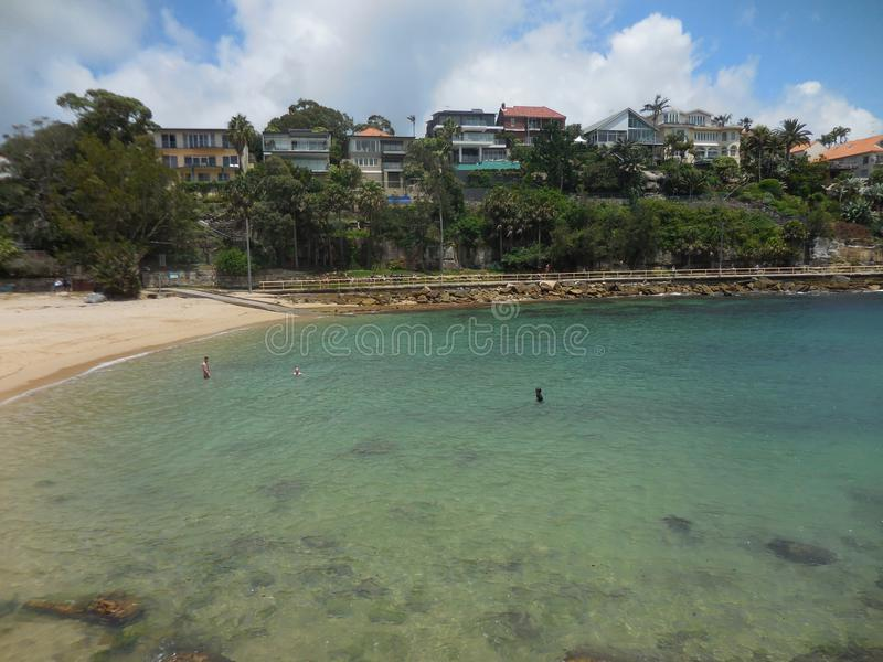 Shelley Beach Sydney lizenzfreie stockbilder