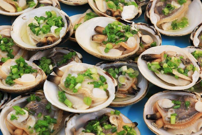 Shellfish dla jedzenia zdjęcia royalty free