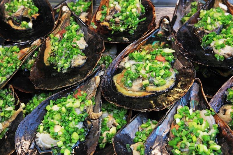 Shellfish dla jedzenia zdjęcia stock