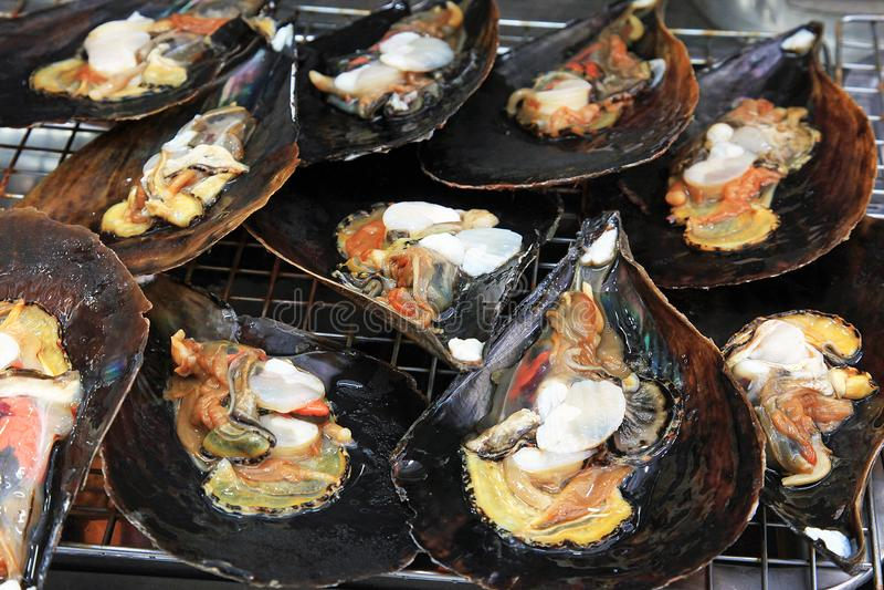 Shellfish dla jedzenia zdjęcie stock