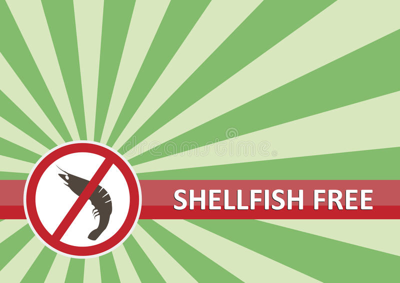 Download Shellfish Free Banner stock vector. Illustration of free - 27562468