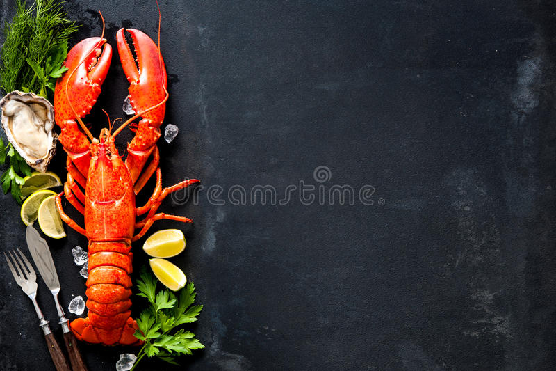 Download Shellfish Plate Of Crustacean Seafood Stock Image - Image of lemon, fish: 69724723