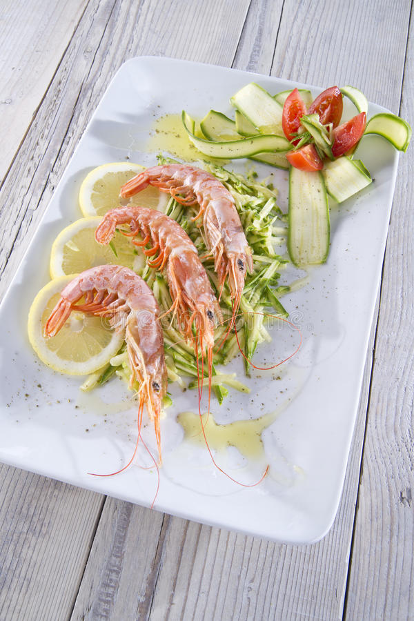 Download Shellfish and zucchini stock photo. Image of organic - 21492520