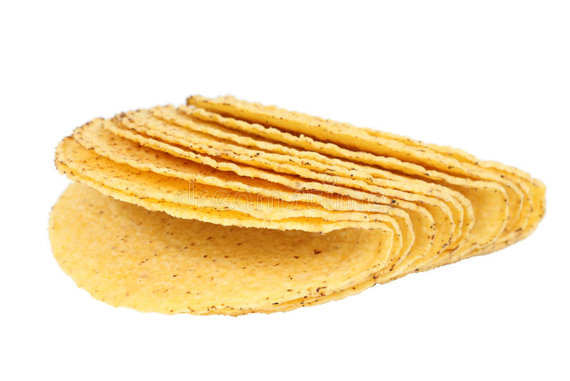 Shells van de taco royalty-vrije stock foto's