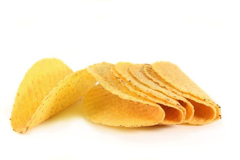 Shells van de taco stock afbeeldingen