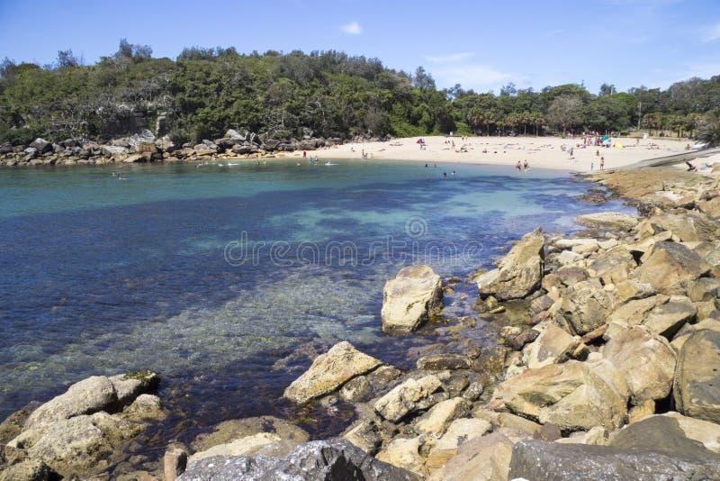 Shelly Beach royaltyfri bild