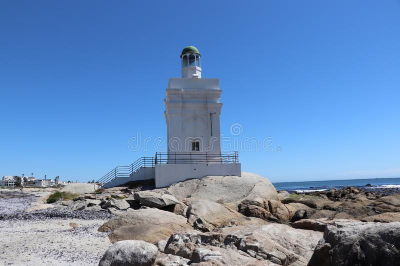 Shelly Point Lighthouse fotografie stock libere da diritti