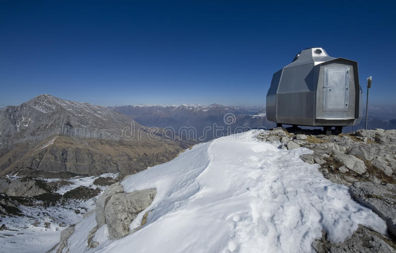Download Mountain shelter stock photo. Image of alps, extreme - 29707318
