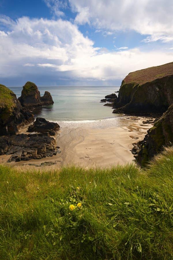 Download Sheltered Strand stock photo. Image of waves, ocean, landscape - 9197294