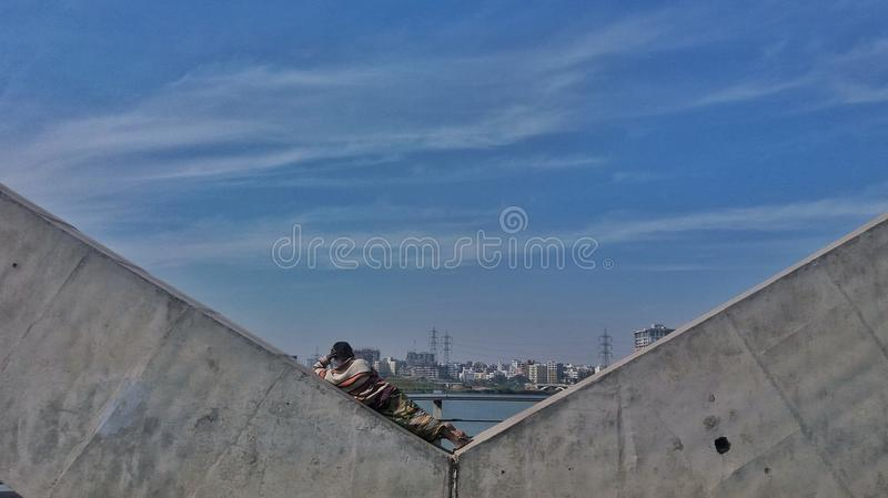 A shelterless people stock photos