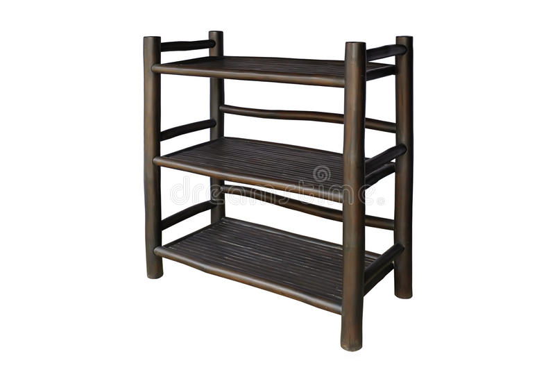 Download Shelves black bamboo stock image. Image of product, design - 41572827