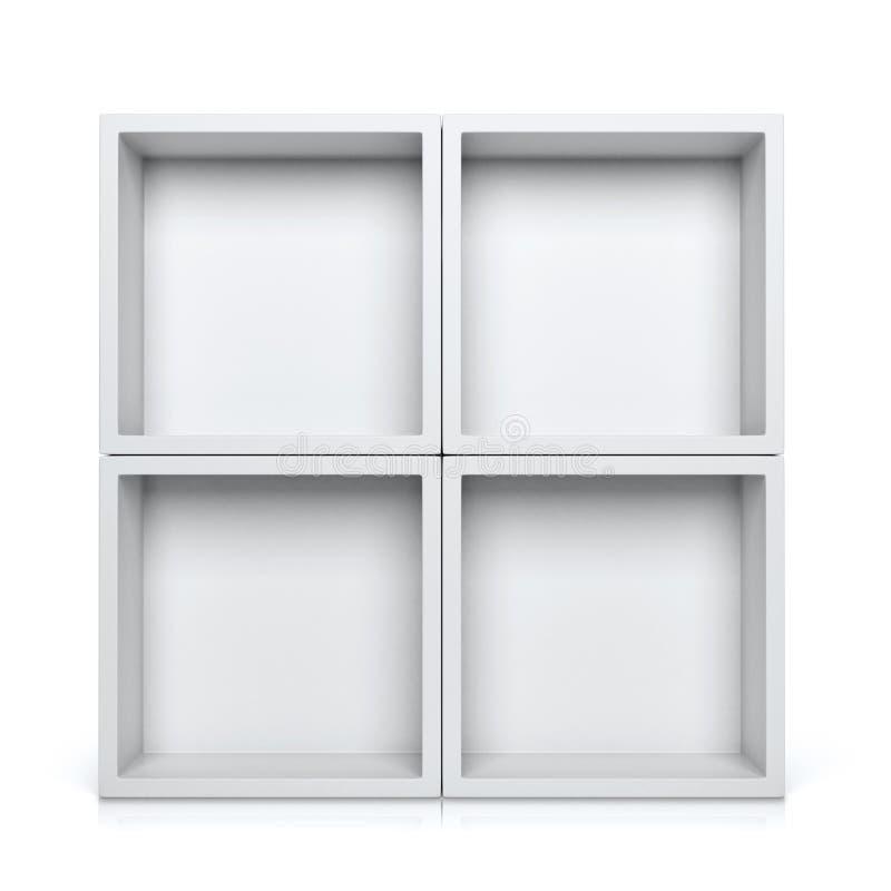 Shelves stock photography