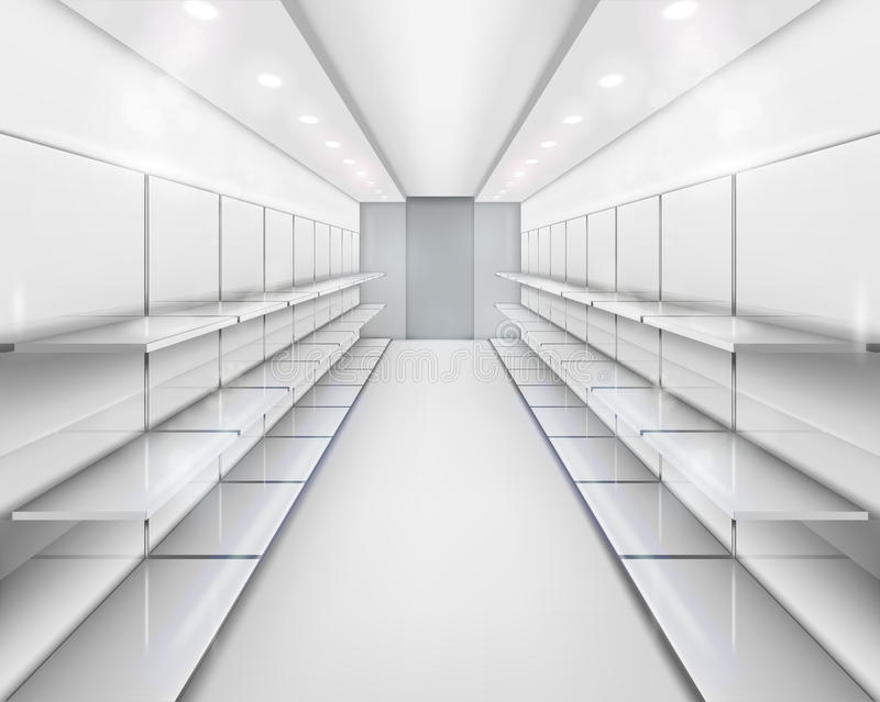 Download Shelves. Vector Illustration. Stock Vector - Image: 22271638