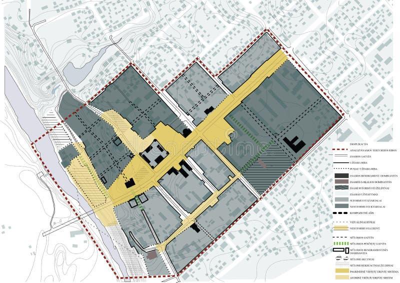 Sheme, arquitectura, pequeña regeneración de la ciudad fotografía de archivo libre de regalías