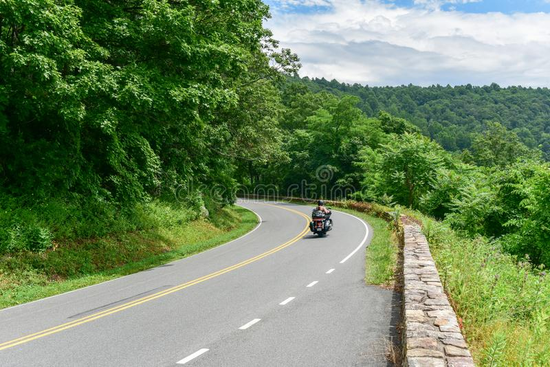 Shenandoah park narodowy - Virginia fotografia royalty free