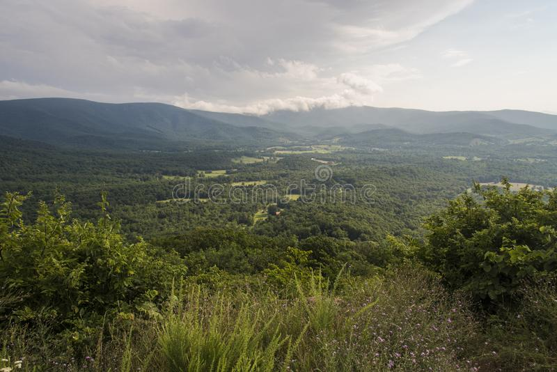 Shenandoah Valley royalty free stock image