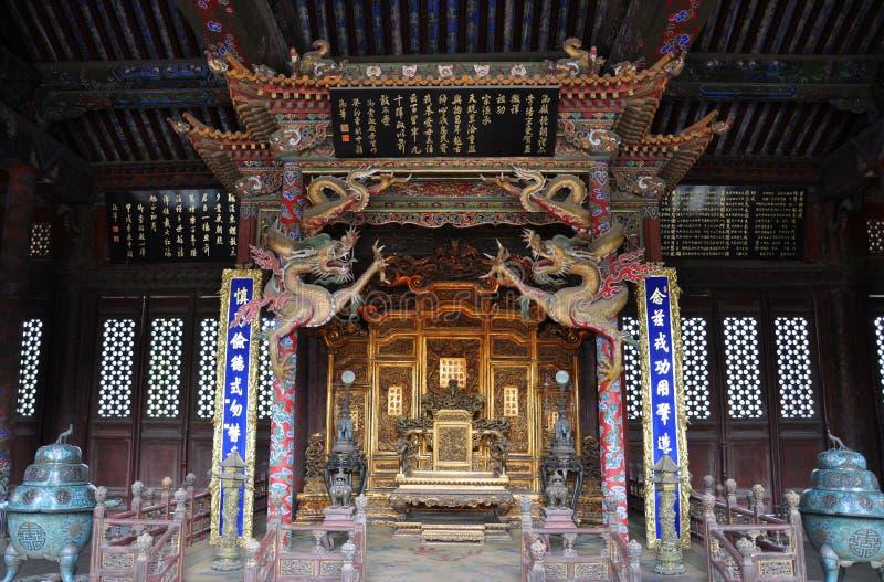 Shenyang-britischer Palast, China lizenzfreies stockbild