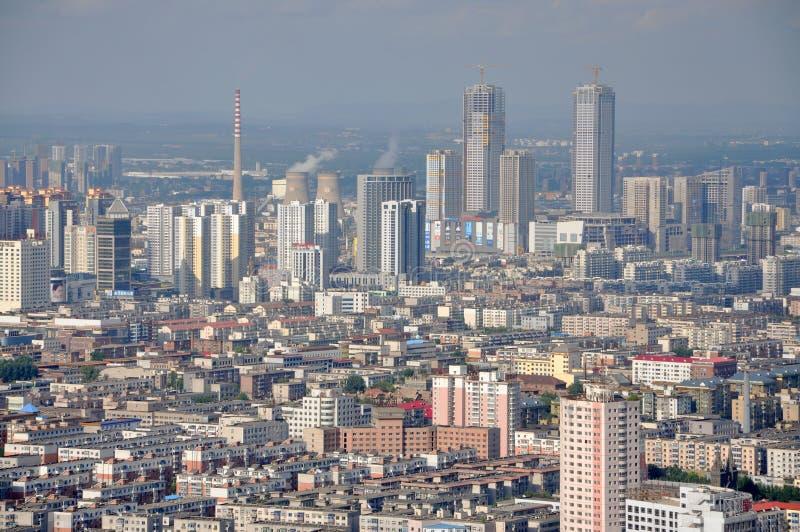 Shenyang CBD, Chine photographie stock