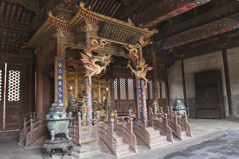 Shenyang Imperial Palace. The Shenyang Imperial Palace, one of the two most intact imperial group-buildings ever existing in China, is located at Shenyang City stock photos