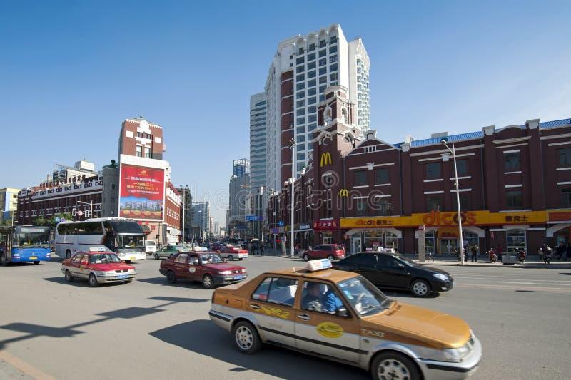 Shenyang miasto obrazy royalty free