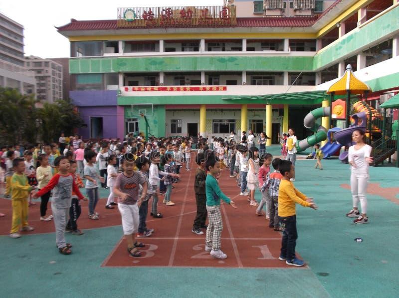 Shenzhen, Κίνα: Παιδικός σταθμός στοκ εικόνα με δικαίωμα ελεύθερης χρήσης