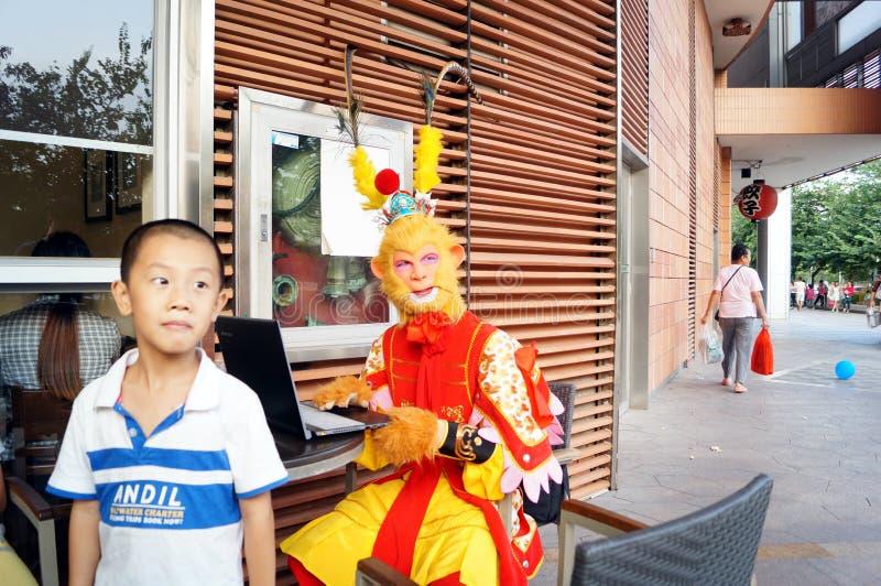 Shenzhen, Κίνα: προώθηση Wukong ήλιων πρόβας στοκ εικόνα με δικαίωμα ελεύθερης χρήσης