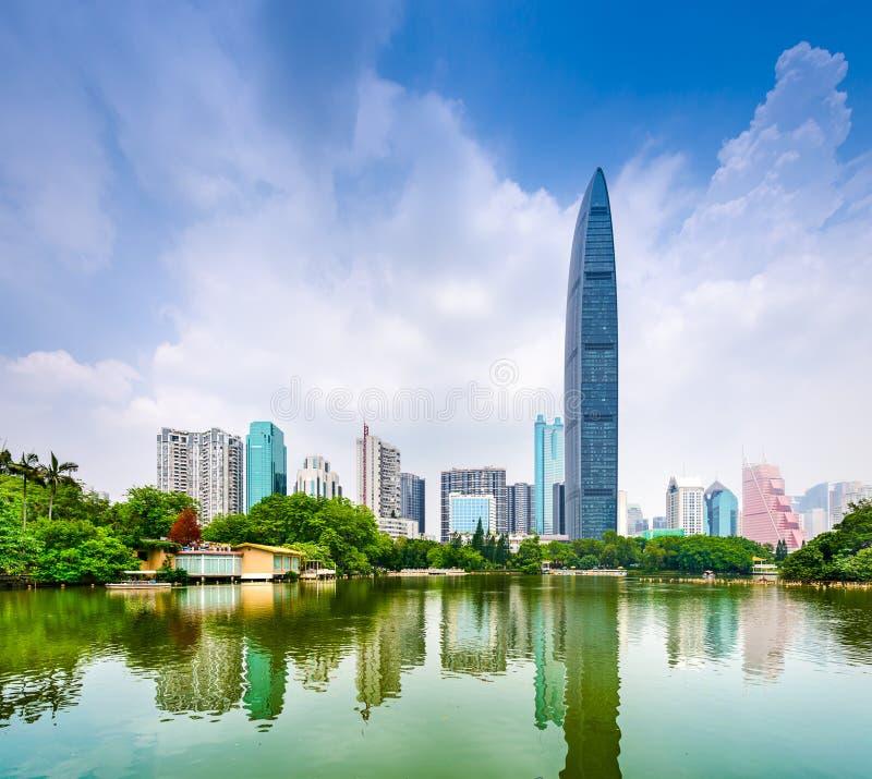 Shenzhen Κίνα στοκ φωτογραφία