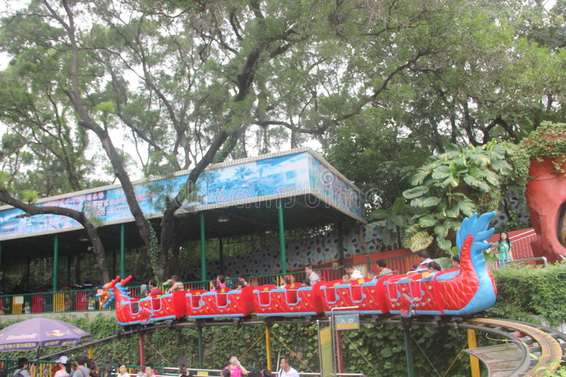 The Shenzhen amusement park,china,Asia. Shenzhen amusement park has many recreation facilities and viewing device royalty free stock photography