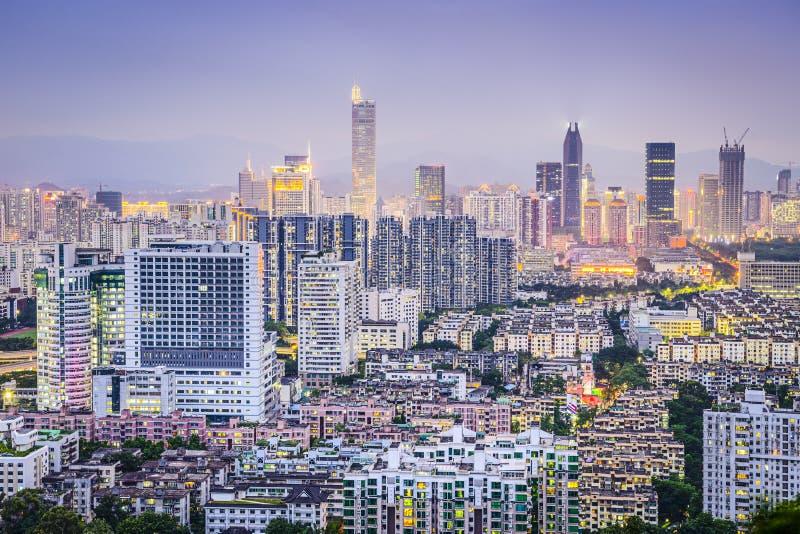 Shenzhen, China stockfotos