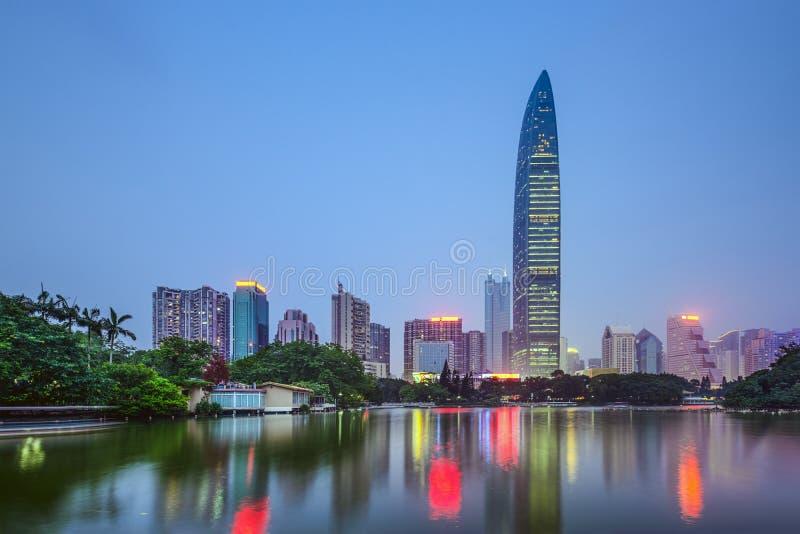 Shenzhen, China lizenzfreies stockbild