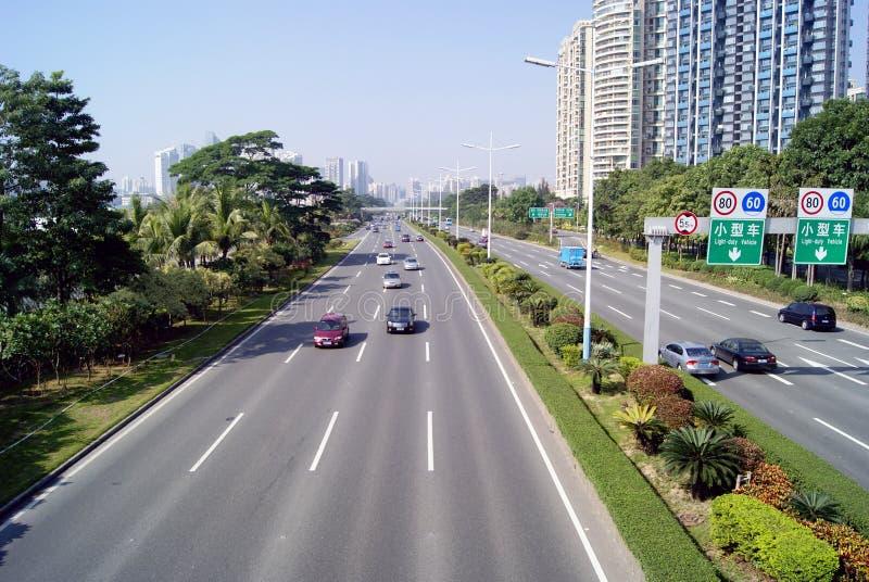 Download Shenzhen China: Binhai Avenue Editorial Image - Image: 22260965