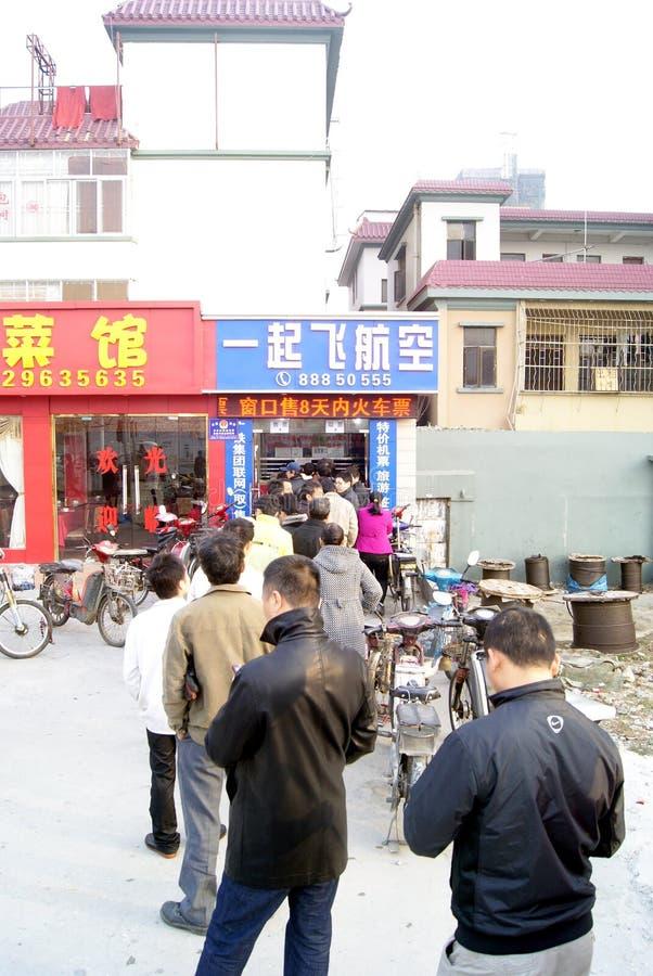 Shenzhen china: buy the tickets