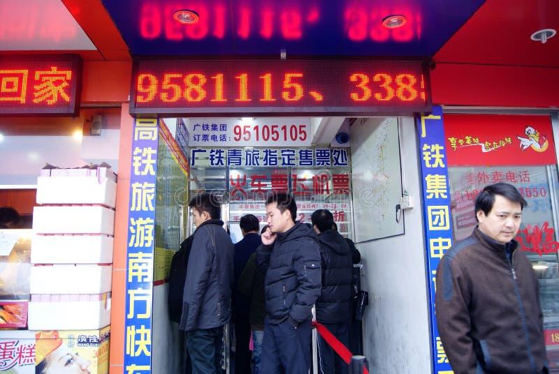Shenzhen china: buy train ticket or plane tickets