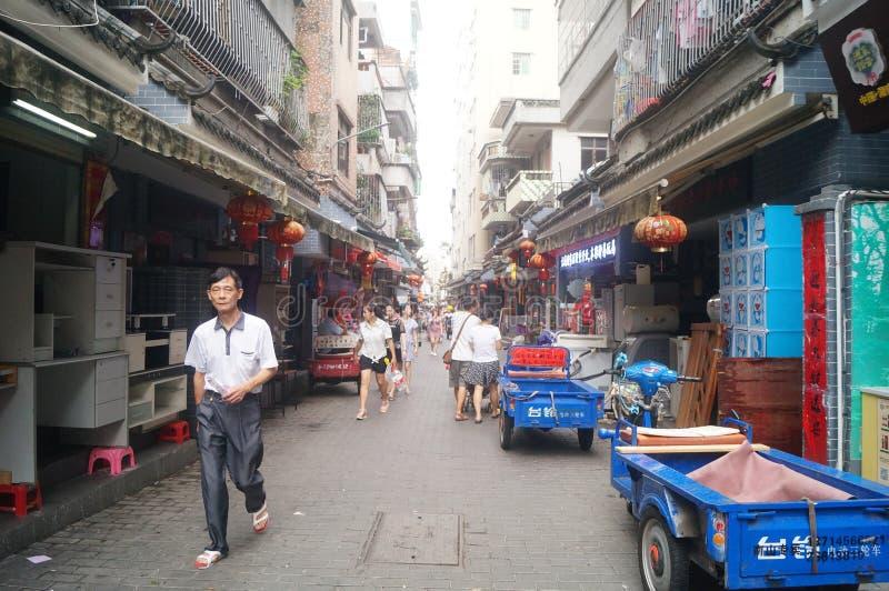 Shenzhen, China: a cidade antiga de Nantou fotos de stock