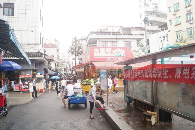 Shenzhen, China: a cidade antiga de Nantou fotografia de stock royalty free