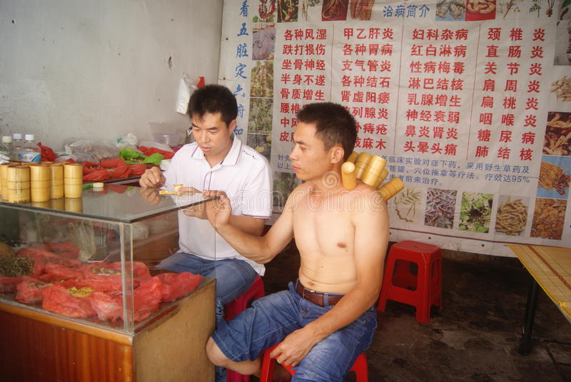 Shenzhen, China: Colocar imagem de stock