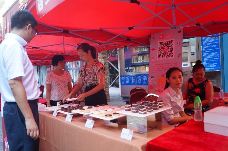 Download Shenzhen, China: De Bevorderingsactiviteiten Van Het Cakemerk Redactionele Afbeelding - Afbeelding bestaande uit toerisme, activiteiten: 54076985