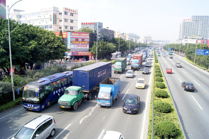Download Shenzhen China: Highway Landscape Editorial Stock Image - Image: 34141614